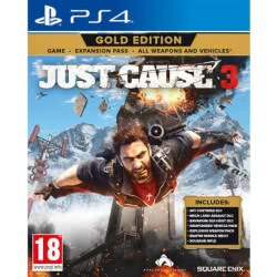 SQUARE ENIX PS4 Just Cause 3 Gold Edition 5021290078154 5021290078154