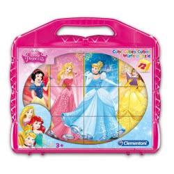 Clementoni Παζλ κύβοι 12 Disney Princess 1100-41181 8005125411818
