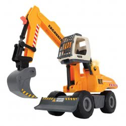 DICKIE TOYS Dickie Power Excavator Εκσκαφέας Μπαταρίας Με Φως Και Ήχο 203726001 4006333039096