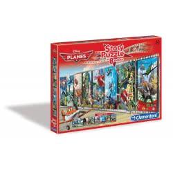 Clementoni Παζλ 200 Τεμ Disney Planes Story Puzzle Σε 8 Καρέ 1211-28046 8005125280469