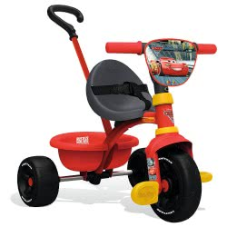 Smoby Τρίκυκλο Ποδηλατάκι Cars Be Move Tricycle 7/740310 3032167403100
