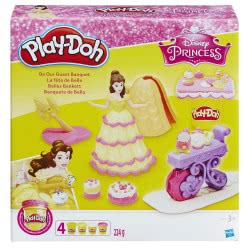 Hasbro Play-Doh Disney Princess Belle B9406 5010993324613
