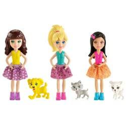 Mattel POLLY & ΖΩΑΚΙ (3 ΣΧΕΔΙΑ) BCY85 746775296780