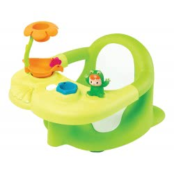 Smoby Cotoons Καθισματάκι Μπάνιου Με Βεντούζα Πράσινο 110606 3032161106069