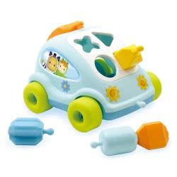 Smoby COTOONS SHAPE SORTER CAR ΣΕ 2 ΧΡΩΜΑΤΑ 211118 3032162111185