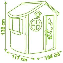 Smoby Jura Lodge Playhouse Σπιτάκι Κήπου 310263 3032163102632