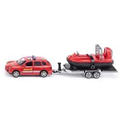 siku Όχημα πυροσβεστικής με τρέιλορ και βάρκα 1:55 SI002549 4006874025497