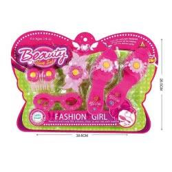 Toys-shop D.I Σετ Ομορφιάς Με Γόβες Και Άλλα Αξεσουάρ Beauty Set JX028602 6990416286027