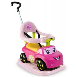 Smoby Auto Rocking Ride On Pink Electronic 720608 3032167206084