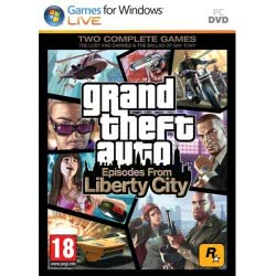 TAKE 2 PC GTA Grand Theft Auto Episodes From Liberty City 5026555055789 5026555055789