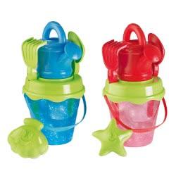 ecoiffier Glitter bucket ποτιστήρι με αξεσουάρ - 2 σχέδια 624 3280250006244