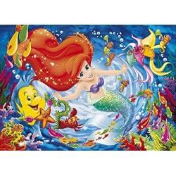 Clementoni Παζλ 104τεμ Super Color Disney Η Μικρή Γοργόνα 1210-27662 8005125278626