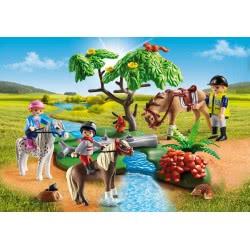 Playmobil Παιδάκια Με Πόνυ Και Εκπαιδευτής Με Άλογο 6947 4008789069474