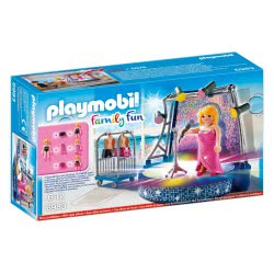 Playmobil Τραγουδίστρια Σε Disco Stage 6983 4008789069832