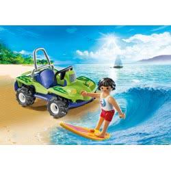 Playmobil Σέρφερ με αυτοκίνητο buggy 6982 4008789069825