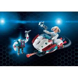Playmobil Ο Δόκτωρ Χ Και Το Skyjet Του 9003 4008789090034