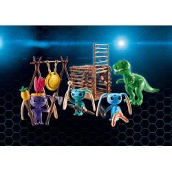 Playmobil Ο Σπίθας Με Τους Φίλους Του Και Παγίδα Για Τον Τ-Ρεξ 9006 4008789090065