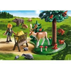 Playmobil Δασοφύλακας Με Ζώα Δάσους 6815 4008789068156