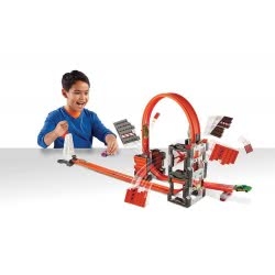 Mattel Hot Wheels Truck Builder Πίστα Σύγκρουσης Με Τουβλάκια DWW96 887961390377