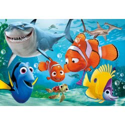 Clementoni Παζλ 15 Super Color Disney Nemo 1200-22223 8005125222230