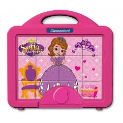 Clementoni Παζλ 12 Κύβοι Baby Disney: Sofia the First 1100-41342 8005125413423