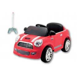 MG TOYS Τηλεκατευθυνόμενο Μπαταριοκίνητο Mini Cooper Style Car Κόκκινο 6V 412181 5204275121810