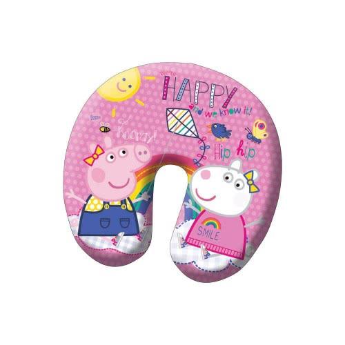 Diakakis imports Peppa Pig Μαξιλάρι Λαιμού 28Χ25cm 000482321 5205698219931