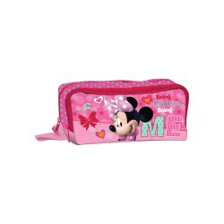 Diakakis imports Κασετίνα Με 2 Φερμουάρ Minnie Mouse 561725 5205698210358