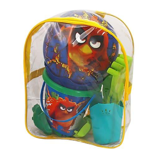 As company Σετ Τσάντα, Κουβαδάκι, Μπάλα Angry Birds 5007-20344 5203068203443