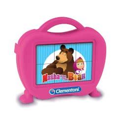 Clementoni Παζλ Κύβοι 6τεμ: Masha and the Bear 1100-40656 8005125406562
