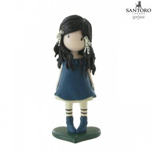 Santoro London Comansi Gorjuss-Santoro Μινιατούρα Μπλε You Brought Me Love COM90110 / Y90111 8412906901114