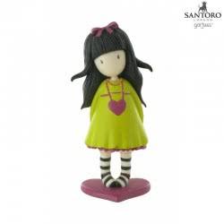COMANSI Santoro-Gorjuss Μινιατούρα Κίτρινη-Ροζ Heartfelt COM90110 / Y90115 8412906901152