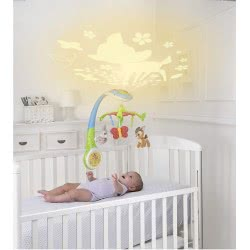 Clementoni baby Chicco Παιχνίδι κούνιας με προβολέα Disney Bambi Y01-07156-00 8058664029310