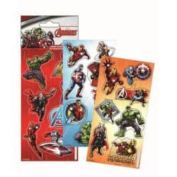 GIM Sticker Laser Αυτοκόλλητα Marvel Avengers 777-53810 5204549093997