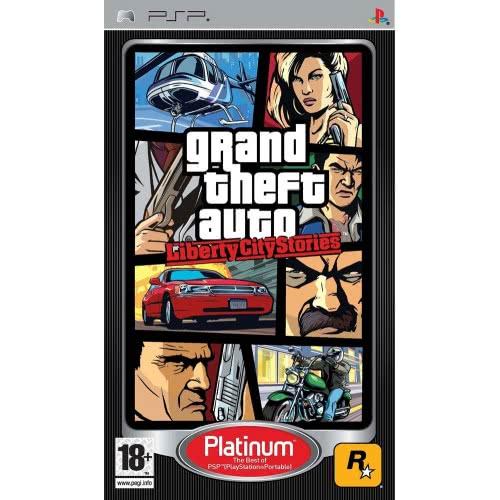 ROCKSTAR GAMES PSP GTA Grand Theft Auto Liberty City Stories Platinum . 5026555280167