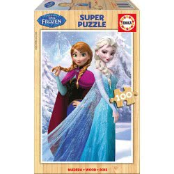 EDUCA Puzzle Ξύλινο Παζλ. Disney Frozen Π.016.373 8412668163737