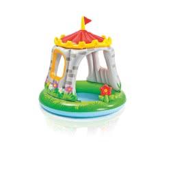 INTEX Πισίνα Royal Castle Baby Pool 122x122cm 57122 6941057401065