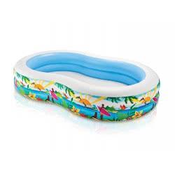 INTEX Πισίνα Seashore Paradise Lagoon Swim Center Premium 56490 6941057454900