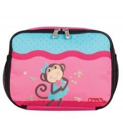 POLO Τσαντάκι Φαγητού Lunch Box Animal Μαϊμού Ροζ 907123-62-00 5201927097035