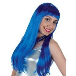 CLOWN Περούκα Lola Μπλε Συσκευασία 4 Τεμάχια 70734 5203359707346