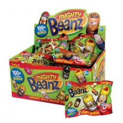 As company Mighty Beanz Φιγούρα Φασόλι Mighty Beanz Series 2 - Σακουλάκι 2 Τεμαχίων 1865-60406 5203068604066