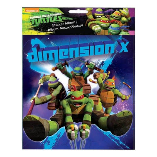 GIM Sticker Album Ninja Turtles 774-02391 5204549094185