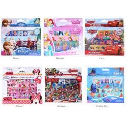 Mattel Sticker Box Αυτοκόλλητα Me 4 Φύλλα - 6 Σχέδια F26075 8719033260757