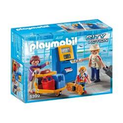 Playmobil Ταξιδιώτες Και Ειδικό Μηχάνημα Check-In 5399 4008789053992