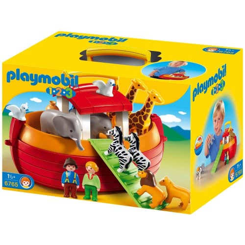 Playmobil Η κιβωτός του Νώε 1.2.3 6765 4008789067654