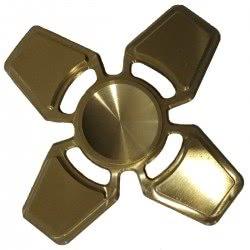 Diakakis imports Fidget Spinner Copper Gold Metalic Four Leaves 4 Minutes 000658217 9123456784544