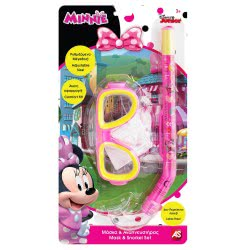As company Σετ Μάσκα Και Αναπνευστήρας Minnie Mouse 5012-70534 5203068705343