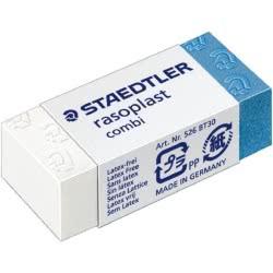 STAEDTLER Rasoplast Combi Γομολάστιχα Δίχρωμη Κυτίο 218.526-BT30 4007817502167