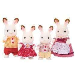 Epoch Sylvanian Families: Chocolate Rabbit Family 4150 5054131041505
