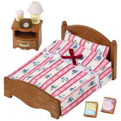 Epoch THE SYLVANIAN FAMILIES - SEMI DOUBLE BED 5019 5054131050194